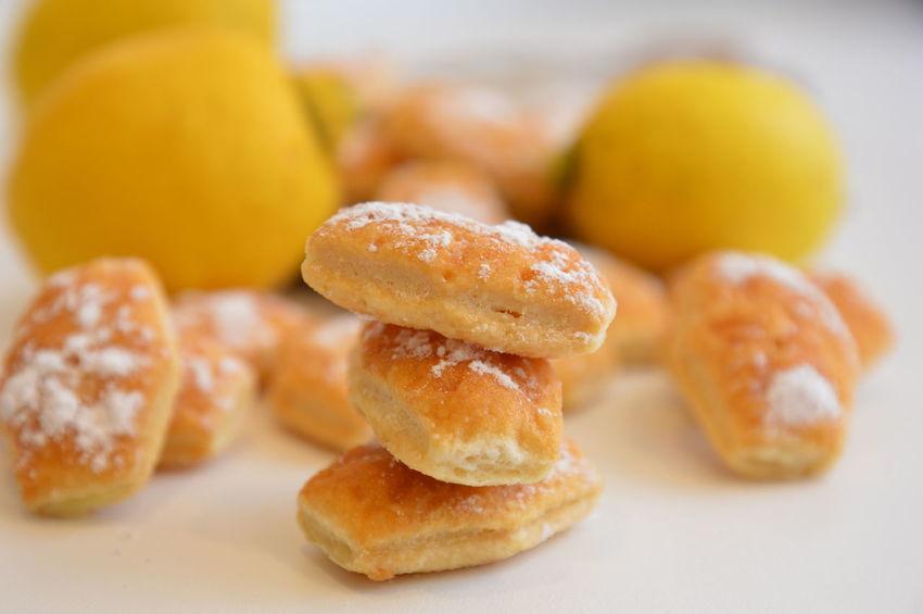 lemon cookies sweet dessert Lemon Pie Dessert Sugar Food Food And Drink Sweet Food No People Defocused Soft Focus Indoors  Close-up Ready-to-eat Day