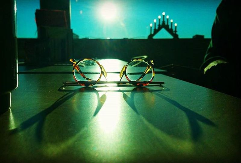 Sunshine Glasses Window Indoors  Taking Photos Check This Out Light And Shadow Taking Pictures It's Cold Outside After Lunch Light Shadow Shadows Eye Sigth EyeEm Best Shots Eyem Göteborg