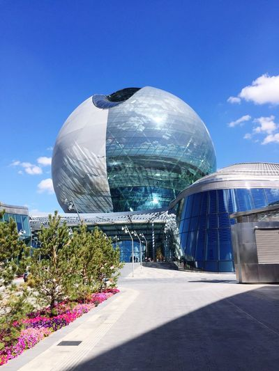 Futuristic Built Structure Building Exterior Architecture No People Astana Kazakhstan Expo Expo2017 EyeEmNewHere Second Acts