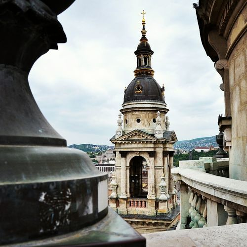 #Basilica #budapest #capital #hungary #instasize #tower #photography Architecture Building Exterior Built Structure Clock Clock Tower Day Dome History Low Angle View No People Outdoors Place Of Worship Religion Sky Spirituality Tourism Tower Travel Travel Destinations