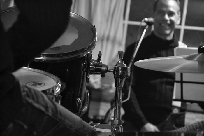 EyeEm Selects Taking Photos Black And White Photography Drumstick Drum - Percussion Instrument Music Musical Equipment Focus On Foreground Recording Studio Lagarto Concertphotographer Lorenagarciaphotography