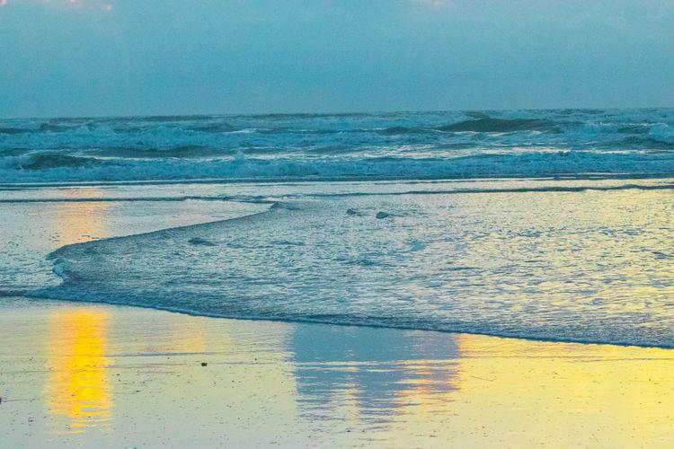 New Smyrna Beach Sunrise Sunrise_sunsets_aroundworld Sunrise... Ocean View Ocean Florida Florida Life Water Reflections Beachphotography Beach Beach Life GayneGirlPhotography Sunrise_Collection EyeEm Best Shots EyeEm Gallery Eyeemphotography