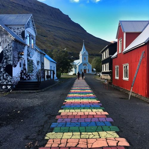Colorful Iceland Icelandic Houses Exploring Icelandic Town Life