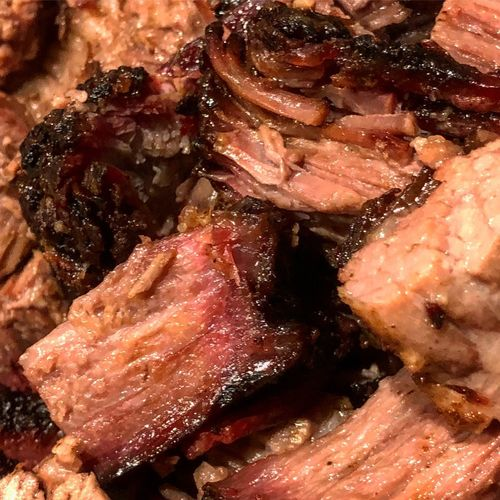 Brisket burnt ends Tasty Beef Smoked Meat Barbeque BBQ Burnt Ends  Brisket Close-up Food And Drink No People Food Indoors  Full Frame Meat