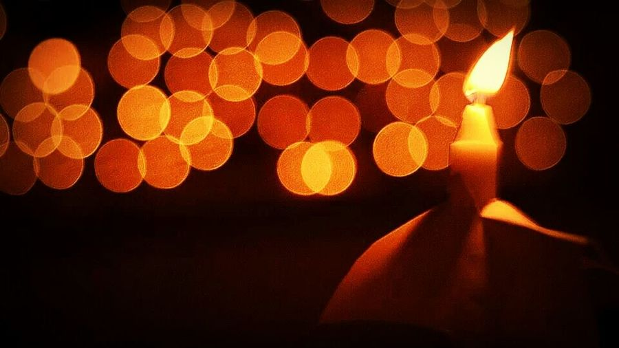 candle light in the night Candle Light Candle Night Nightphotography Nightshot