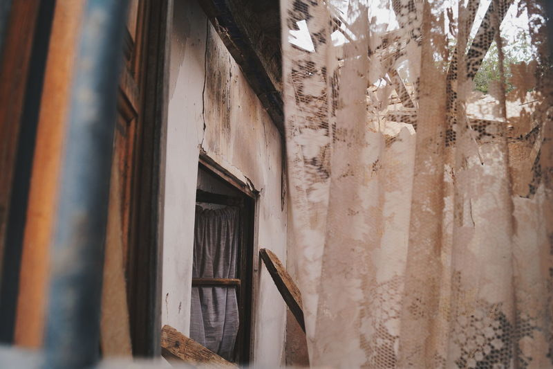 Through the window Architecture Check This Out EyeEm Best Shots Growth Hanging Out Hello World Ruins Taking Photos VSCO Architecture Built Structure Close-up Curtain Day Enjoying Life Eye4photography  Indoors  Indoors  Journey Lonley No People Scenics Window My Best Photo