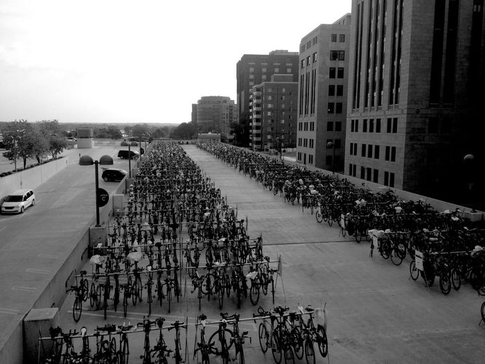 QVHoughPhoto Wisconsin Madison Ironman IronmanWisconsin Bicycle Cityscapes Blackandwhite IPhoneography IPhone4s