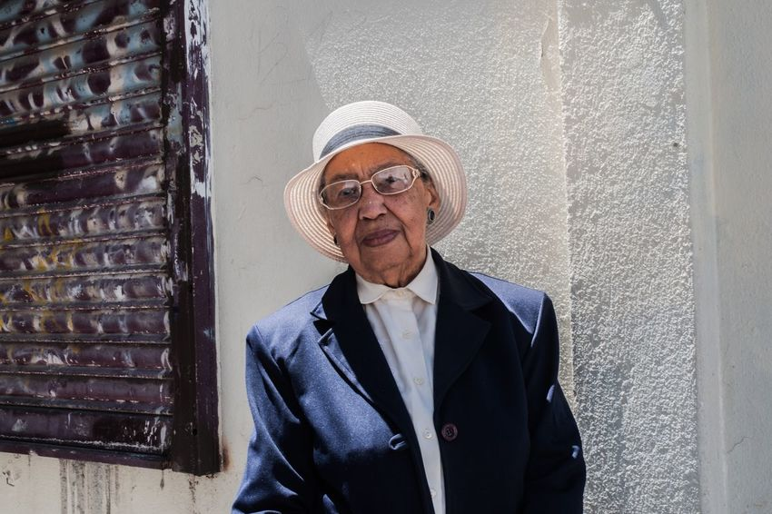 The Portraitist - 2017 EyeEm Awards Portugal Marvila Senior Adult Portrait Looking At Camera One Person Eyeglasses  Day Smiling Real People Outdoors Standing Architecture Building Exterior Adult