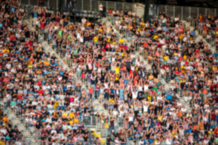 Blurred crowd of spectators in a stadium tribune at a football match Blurred Football Football Fever Stadium Supporters Audience Blurred Background Blurred Crowd Blurred People Crowd Crowd Of People Defocused Background Fans Football Fans Football Stadium Group Of People Match - Sport Real People Soccer Spectator Sport Sports Stadium Tribune World Cup 2018