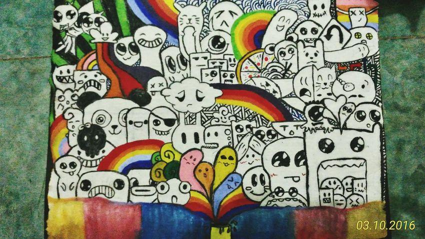 Doodlepainting Doodle Art Painting Throwback Doodle Doodling