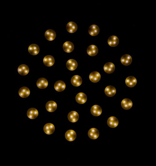 led smd Black LED Led Bulb LED Light Led Lights  Light Light And Shadow Pattern Pieces Smd Symmetry Symmetrical Round And Round Round Bulb Lamp Yellow Light Yellow Golden Light Licht Dots Golden