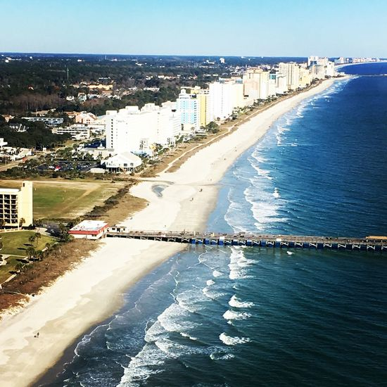 From An Airplane Window Beachphotography Waterfront Beach Life Ocean View Atlantic Ocean South Carolina Myrtlebeach Airplane The Tourist
