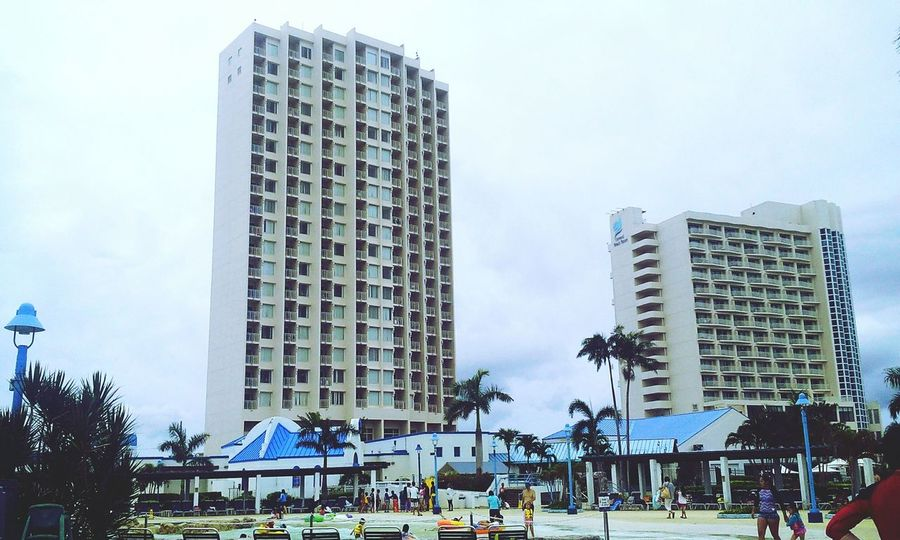 Check This Out Taking Photos Nice Day Beautiful Sight Buildinglover Resort Hotel Onward Water Park Nice Shot Nice View