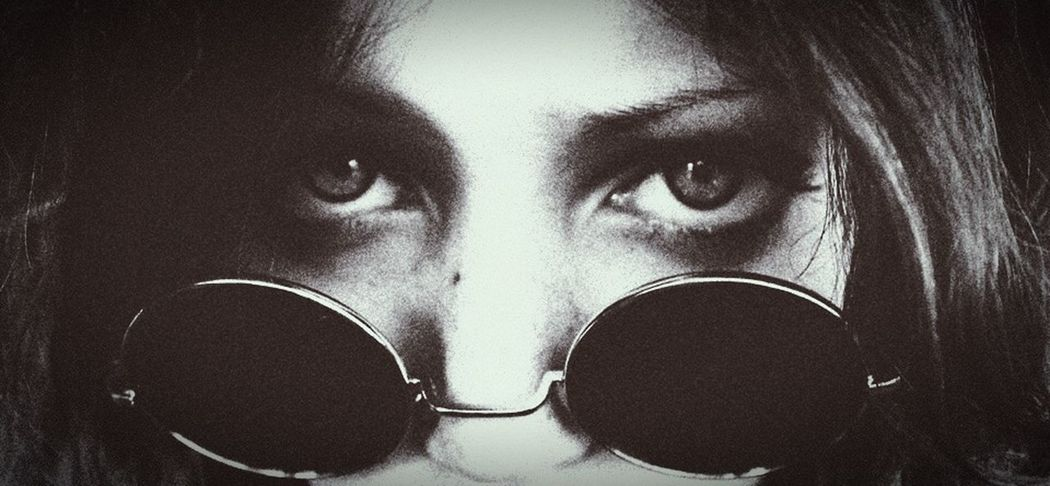 Eyes Grey Self Portrait Sguardo  Sunglasses Look Glance B&w Biancoenero Blackandwhite Canon1100d Occhi Occhiali