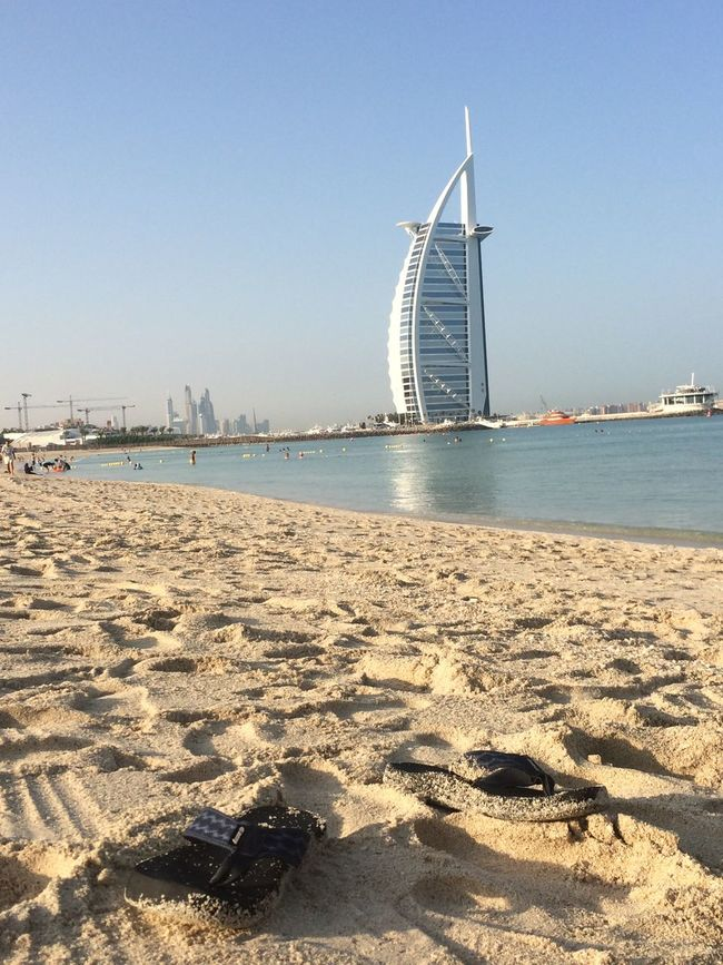 Endless Summer in Dubai Burjalarab Dubai Jumera Beach UAE , Dubai Sand Travel