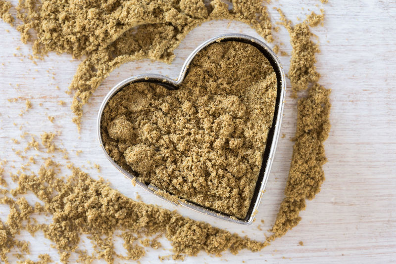 Ground cumin Isolated Love Valentine's Day  Close-up Cumin Directly Above Food Ground Heart High Angle View Ingredient No People Seasoning Spice