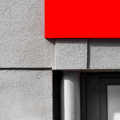 Red & Shadows Abstract Architectural Detail Architecture Built Structure Close-up Composition Day Minimalism Minimalz No People Outdoors Red Shadows & Lights Urban Geometry The Graphic City