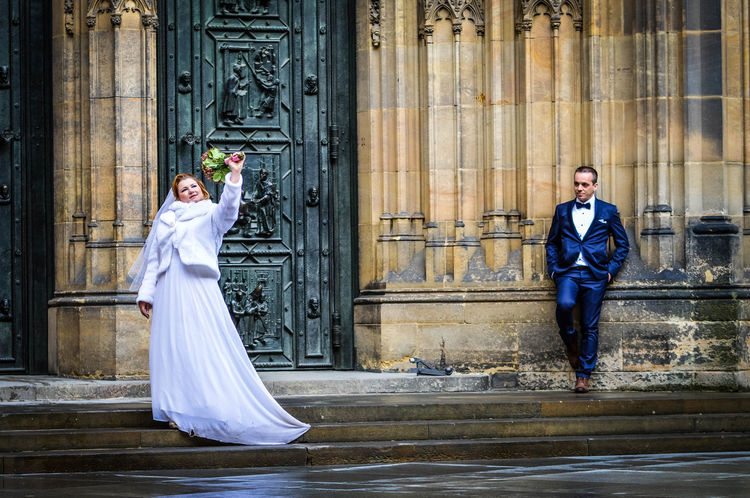 Adult Beauty Bride Day EyeEmNewHere Flowers Funny Glamour Groom Love Love ♥ Prague Prague Castle Prague Czech Republic Stare Study Abroad 🌴 Suave Togetherness Two People Wedding Women