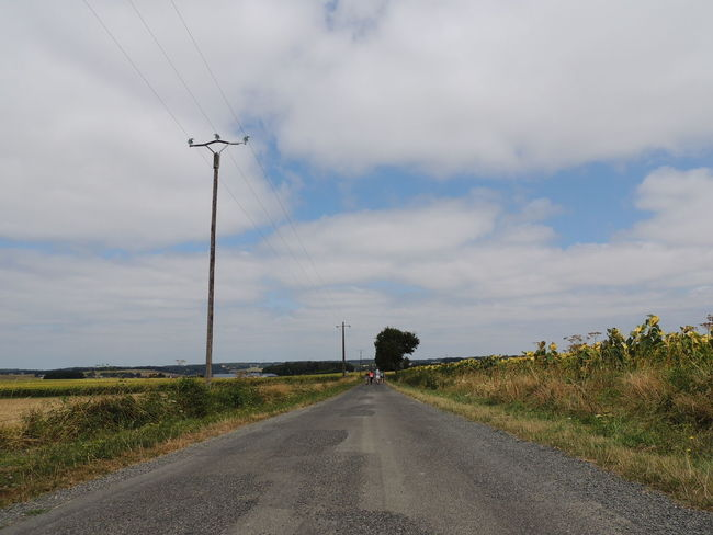 France Loire Touraine Cable Cloud - Sky Day Diminishing Perspective Direction Electricity  Electricity Pylon Environment Field Fuel And Power Generation Landscape Nature No People Outdoors Plant Power Line  Power Supply Road Sky Technology The Way Forward Transportation vanishing point
