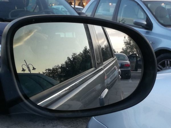 Driver's reflections collection Italy🇮🇹 Lillireality The Purist (no Edit, No Filter) From My Point Of View Driver's Reflections Collection Car Transportation Mirror Reflection Mode Of Transport City Day Vehicle Part No People Outdoors Side-view Mirror Mirror Reflection Photography Reflections Daylight Photography No Filter No Edit Abstractphotography Close-up Urbanphotography
