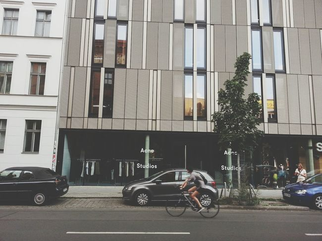 Berlin Acne Studios Street