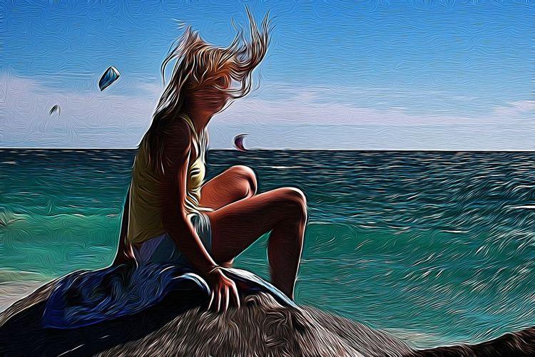 Paint beach