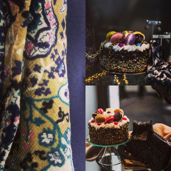Food and scarf Shop Colors Food EyeEm Selects Food And Drink Indulgence Temptation Dessert