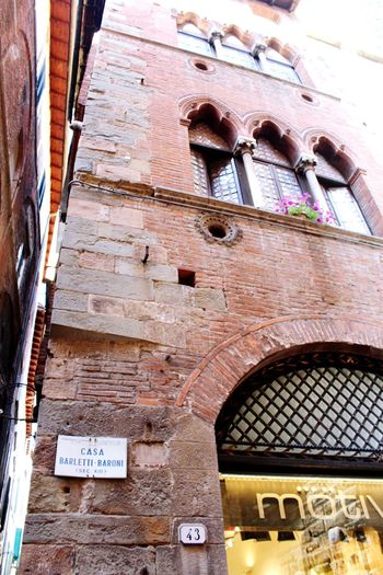 Architecture_collection Lucca Italy Lucca Italy Architecture Communication Text Built Structure Day No People Building Exterior Arch Low Angle View Wall Outdoors Travel Destinations Wall - Building Feature Building Old Sign