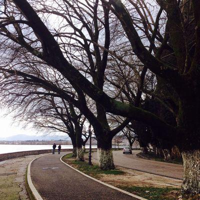 Ioannina Lake.