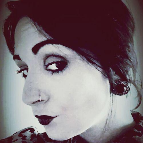 Selfie Goth Fashion Pierced
