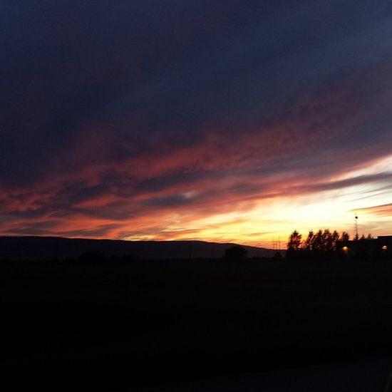 Love our sunsets! Nofilter Tetonvalley Idahogram Sunsets Idaho Lovemyhome SummerNights