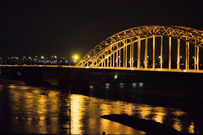Waalbrug Nijmegen Nijmegen Bridge Evening Canon 1200D