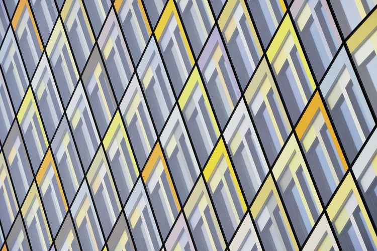 Architecture Building Building Exterior Modern Office Building Exterior Window Pattern Glass - Material Repetition Skyscraper Abstract Façade Backgrounds Geometry Geometric Shape