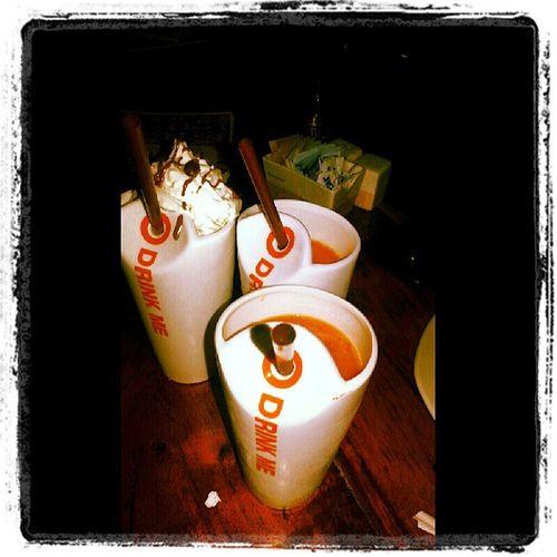 NYC Maxbrenner Love Fruit smoothie chocolateshake todiefor