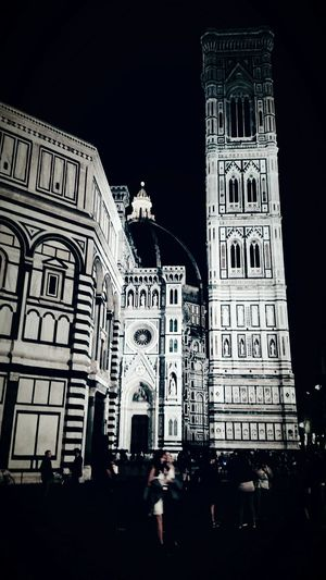Florence by night. Nightphotography Night View Nighttime Night Florence Italy Firenze Duomo Di Firenze