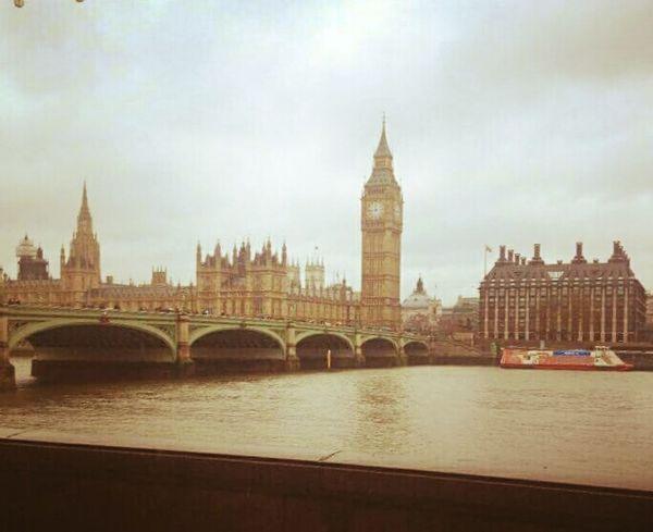 London River Thames Riverside Big Ben Houses Of Parliament City Life
