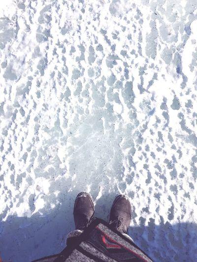 On the frozen sea Enjoying Life Hello World Russia Vladivostok Vld Sea Frozon Sea Ice Frozen Frozen Nature Foot
