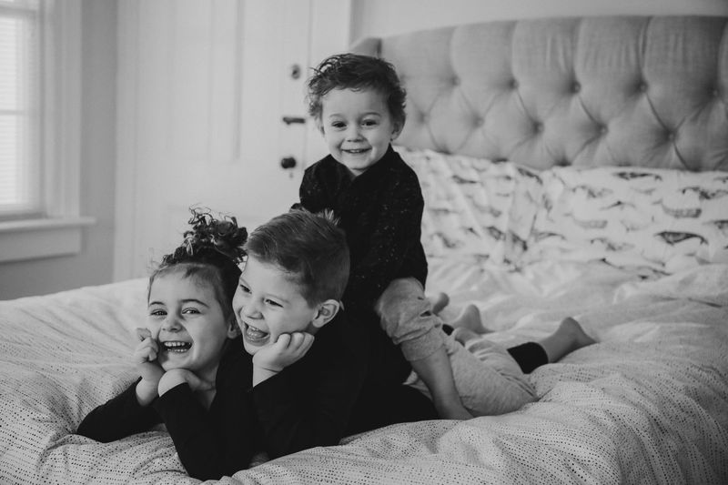 Childhood Child Family Togetherness Boys Males  Offspring Happiness Real People Bonding Emotion Home Interior Two People Smiling Indoors