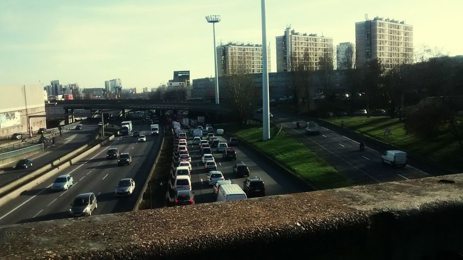 My Daily Commute trafic Bouchons paris