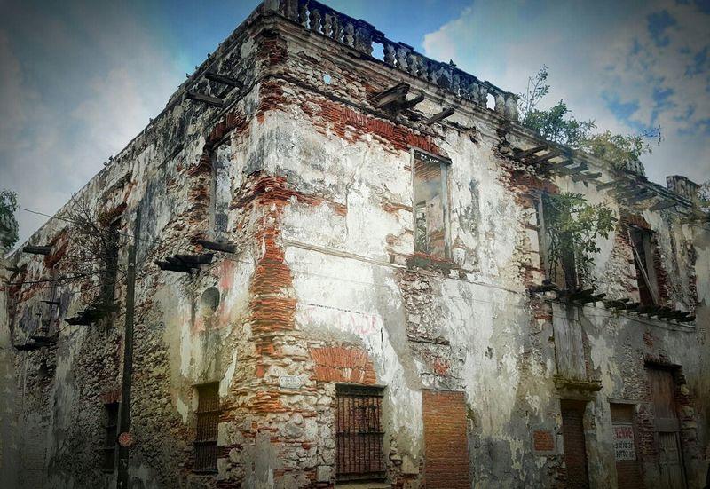 Façade Veracruz Mexique memory