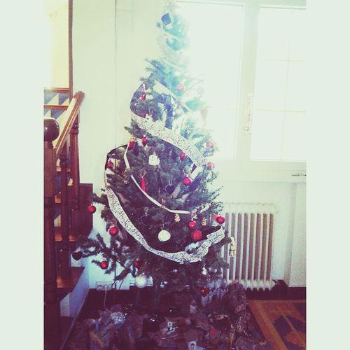 Navidad Cold Tree Beuriful