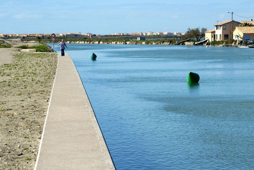 Canal Concrete Frontignan Languedoc Quay SETE Wall Water