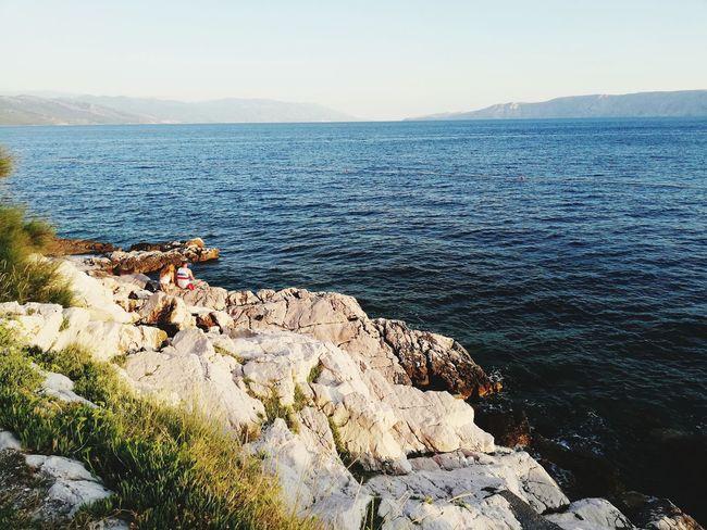 Novi Vinodolski Seascape Sea And Sky Sea Life Adriatic Sea Croatia Croatia ❤ Urlaub