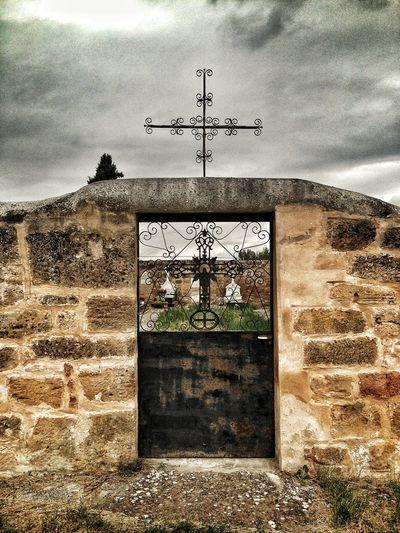 Las Vesgas De Bureba Cementery Burgos Castilla