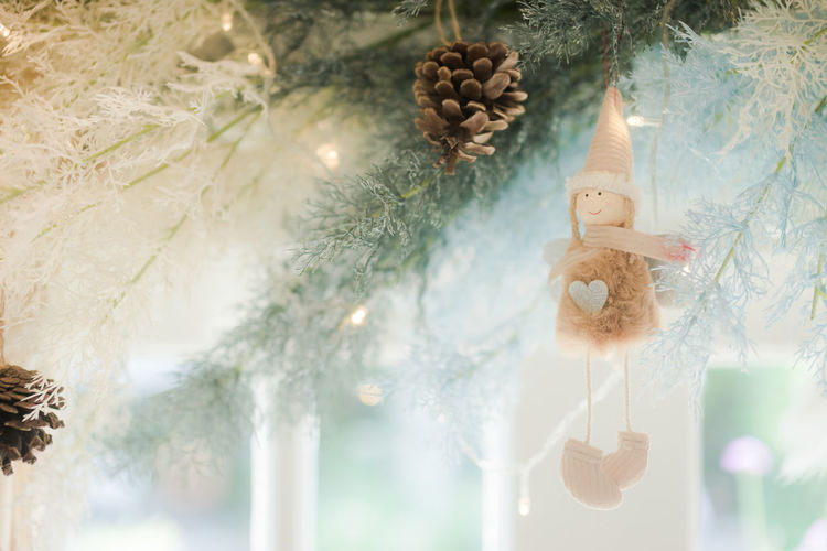 Decoration Christmas Decoration Holiday Christmas Ornament Christmas Tree Human Representation Celebration Representation christmas tree Religion Indoors  Art And Craft No People Creativity Belief Toy Celebration Event Hanging