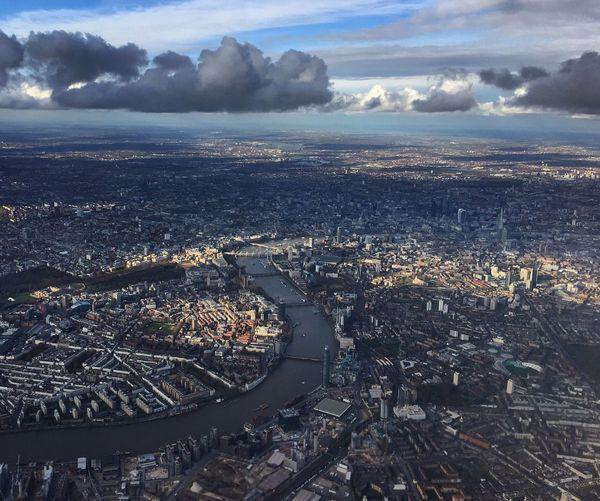 Aerial Shot Of Landscape