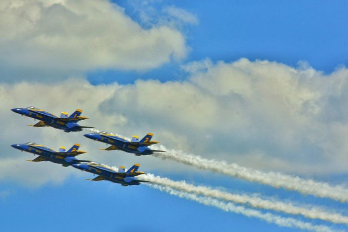 And these are your US Navy Blue Angels Bring ear plugs and look to the skies! Great New England Air Show EyeEm Best Shots