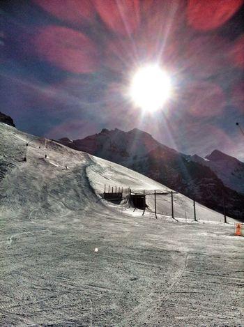 Skiing Eigergletscher Jungfrauregion Mountain View Soaking Up The Sun HDR