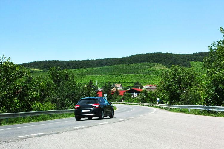 Road cutting