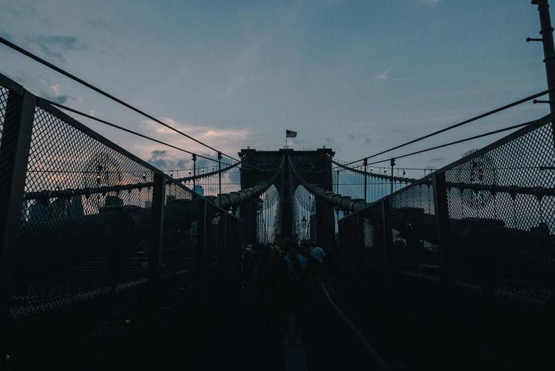 Brooklyn Brooklyn Bridge  Brooklyn Bridge / New York NYC New Yokr New York City Travel Travel Destinations Urban